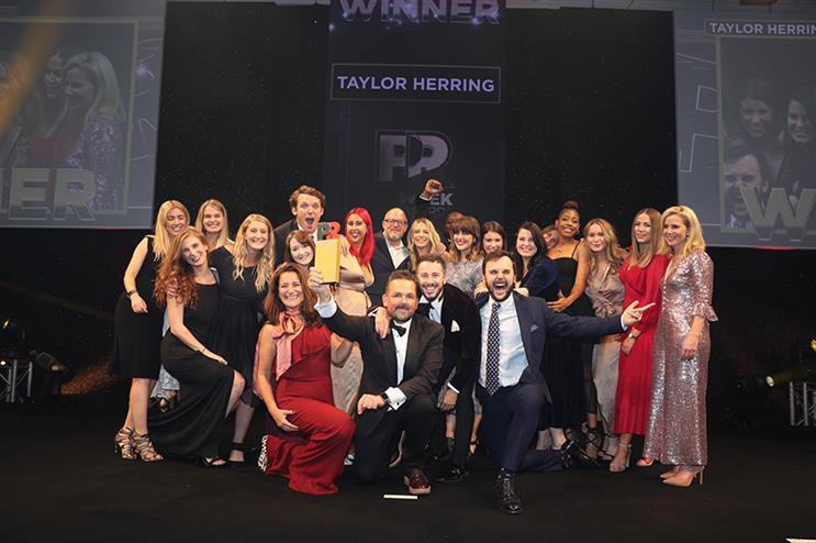 UK PR Agency of the Decade - shortlist: Taylor Herring