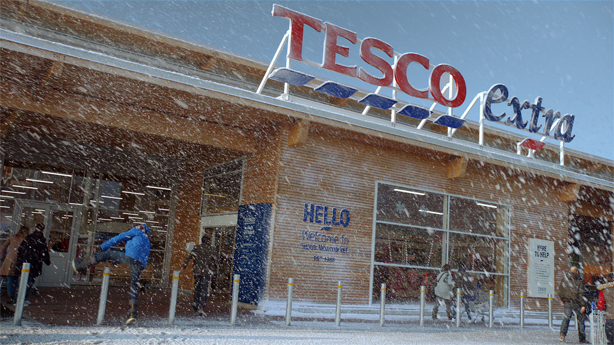 'Little helps' is the heart of the Tesco Christmas campaign