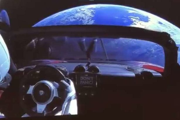 Sending a Tesla into space is a mic drop moment in PR, writes Mark Perkins