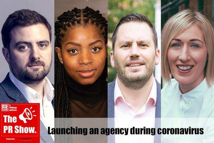 New agency bosses (L-R): Mike Robb, Kamiqua Pearce, Darryl Sparey and Gemma Moroney