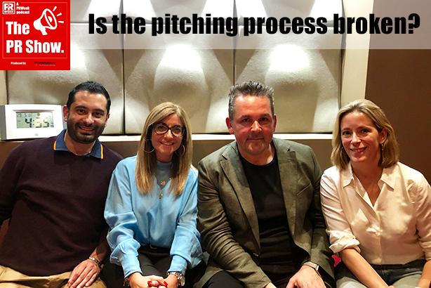 The PR Show - Ep 3 panel: Arvind Hickman, Mandy Sharp, James Herring and Tanya Ridd