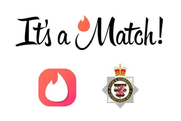 Avon and Somerset Police used dating app Tinder to get the online safety message across