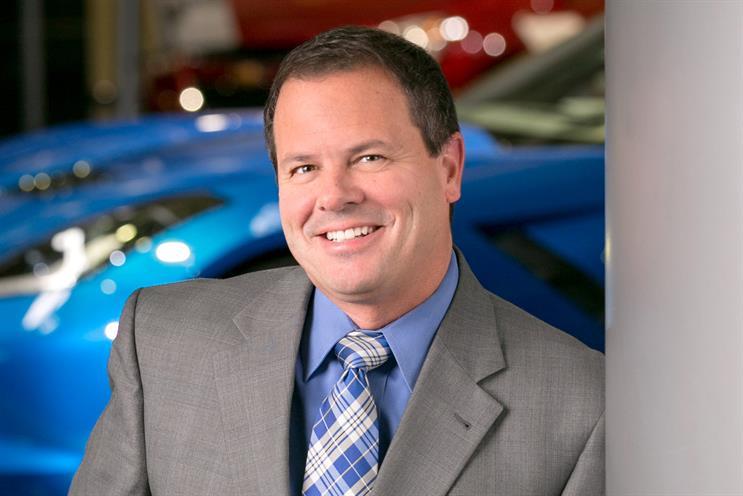 Tony Cervone, SVP, global communications, General Motors: Power List 2016