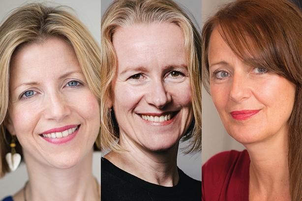 Charity chiefs: (l-r) Sarah Woolnough, Carolan Davidge, Ali Jeremy