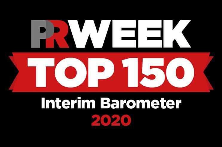 PRWeek UK Top 150 Consultancies Interim Barometer: entry deadline extended