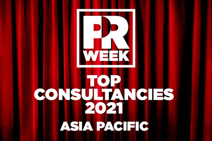 PRWeek Top Consultancies 2021: Asia-Pacific