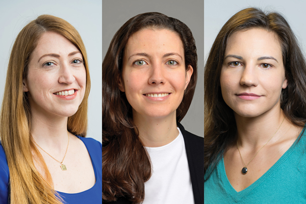 Public First's new 'Human Capital' practice will be run by senior new hires to the team (left to right): Jennifer Powers, Eleanor Shawcross and Elena Narozanski
