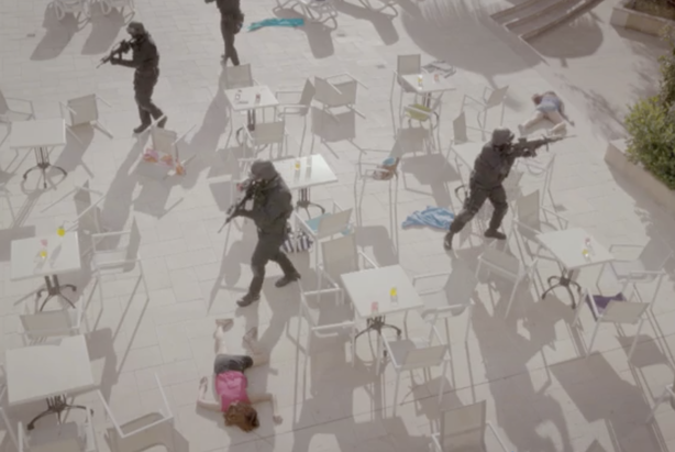 The hard-hitting film from NaCTSO explains what people should do in the event of a terrorist attack