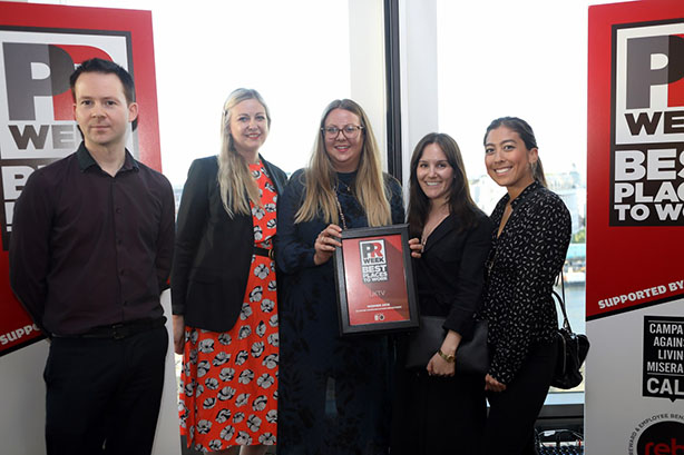 UK Best Places to Work Awards 2019 winners - In-House Communications Department