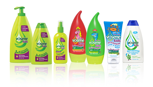 Threepipe has taken on the Vosene Kids range for a three-month campaign