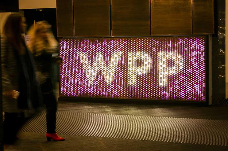 WPP: unveiled 'creative transformation' strategy in 2018