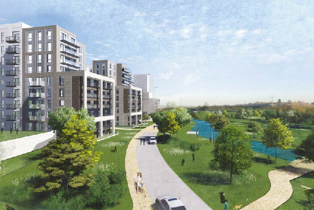 New space: Watford's Riverwell regeneration is among major projects planned in the area