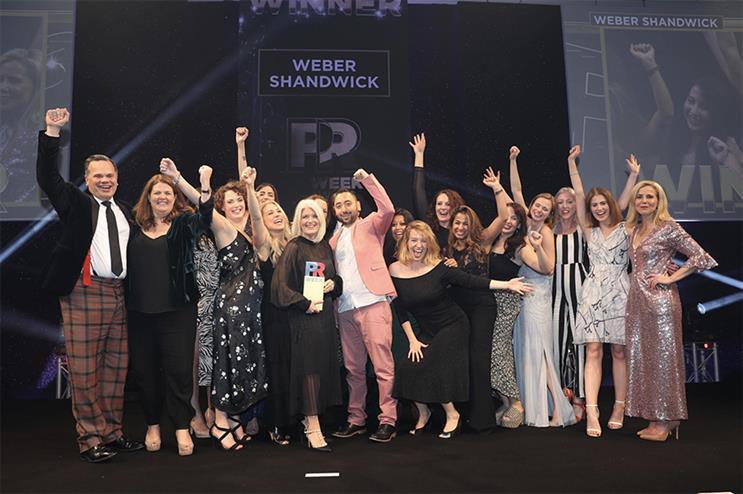 PRWeek UK Awards 2019: Winners revealed