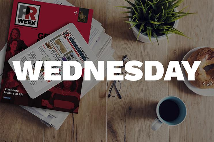 Breakfast Briefing: Five things for PR pros to know on Wednesday morning
