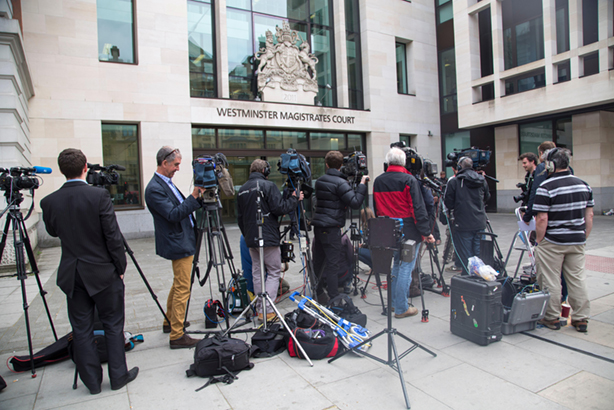 HMCTS wants to improve the relationship with the media and increase reporting of court cases (pic credit: Gavin Rodgers / Alamy Stock Photo)