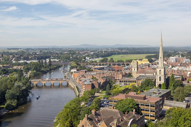 Worcestershire: The county council is planning a comms campaign aimed at businesses