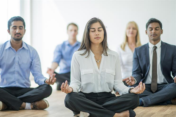 Edelman's internal initiative Livewell includes meditation, yoga and other activities designed to improve wellbeing (©GettyImages)