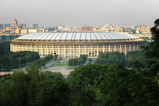 World Cup venue: Luzhinki Stadium in Moscow