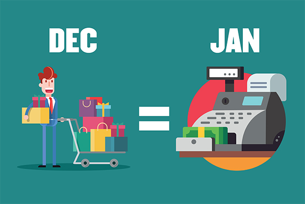 Will social media success equate to money in the tills in January?