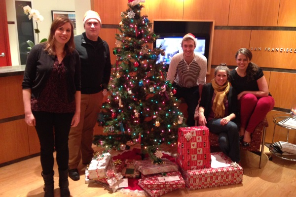 Access adopts families in need