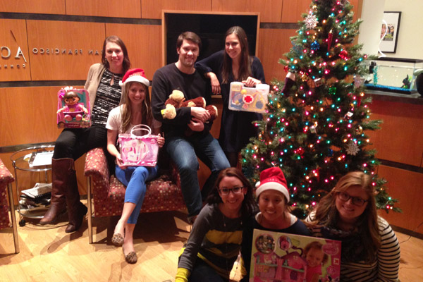 Access fulfills wishes of needy families