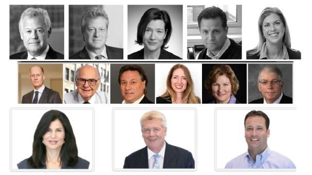 A snapshot of the leadership teams of a few top agencies: Weber Shandwick, Burson-Marsteller, and Cohn & Wolfe