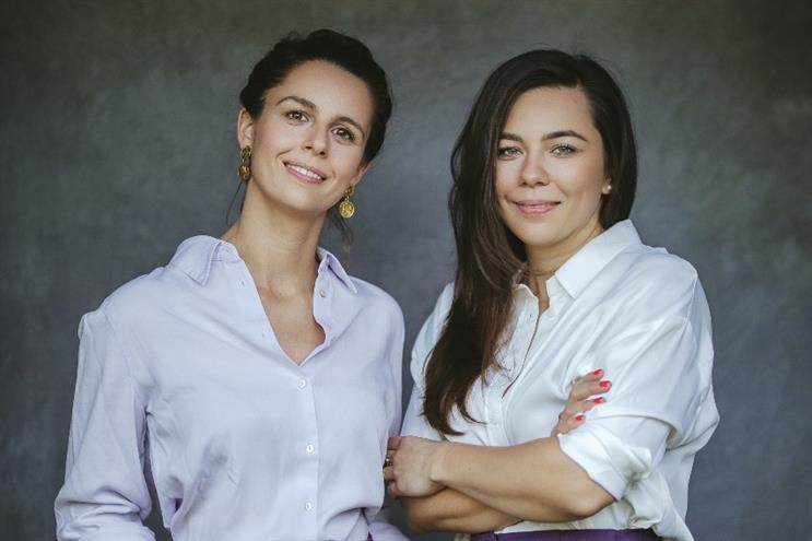 Hannah Barlow (left) and Gosia Brzezinska: 'Committed to shaking up the bloated and bureaucratic agency world'
