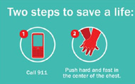 American Heart Association promotes Hands-Only CPR