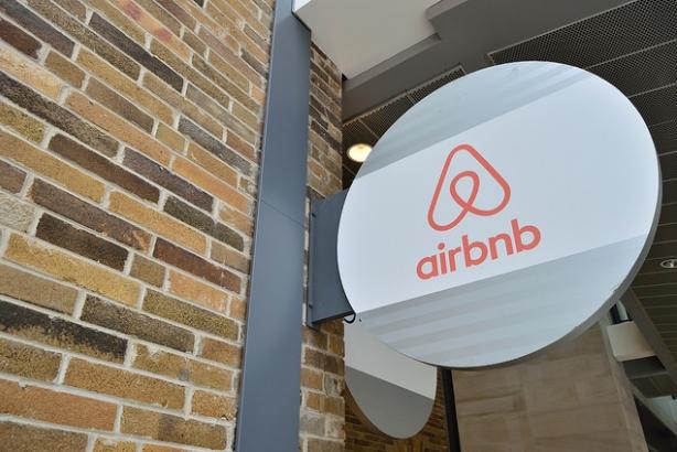 Airbnb office sign (Image via Open Grid Scheduler, Flickr)