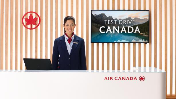 Watch: Air Canada offers potential American political refugees a 'test drive' of its country