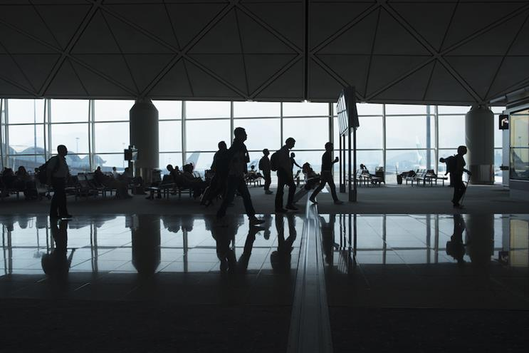 Miss rushing for flights? Most agency employees won't have that sensation for a while, even though CEOs are getting back in the air. (Photo credit: Getty Images).