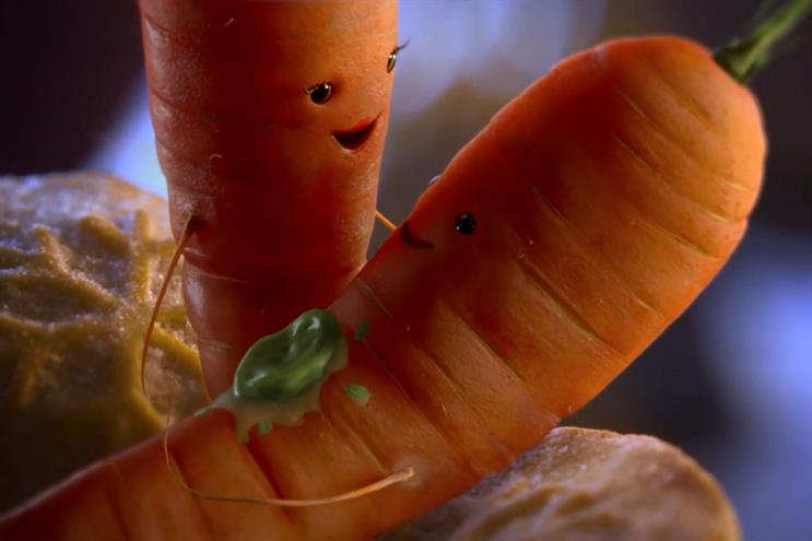 Aldi's Christmas cliffhanger sees Kevin the Carrot return... and fall in love