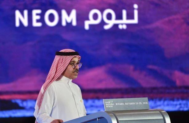 Neom CEO Nadhmi Al-Nasr (Image via Twitter)