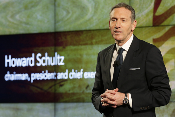 Starbucks CEO Howard Schultz held open forum for employees to discuss racism issues