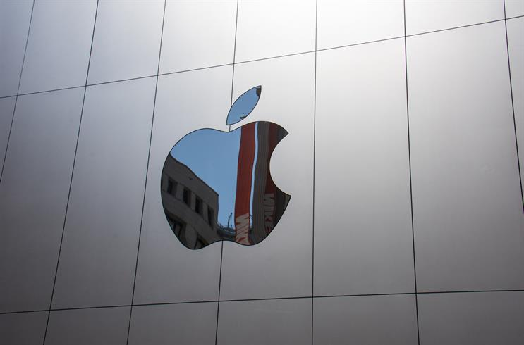 Apple is most noticed business news story in September
