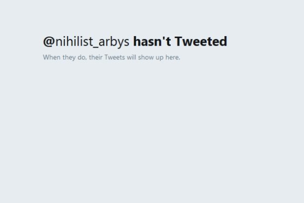 Arby's steps in to save its nemesis: The hacked Nihilist Arby's account