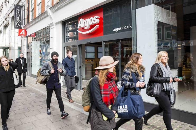 Argos hands Hope&Glory consumer PR brief