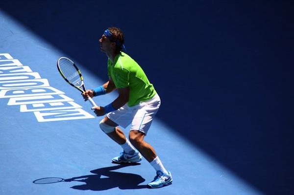 Rafael Nadal at the Australian Open
