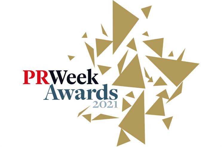PRWeek UK Awards 2021: Shortlist revealed