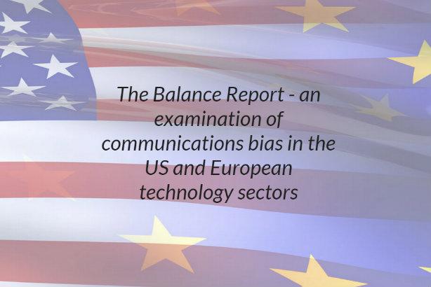 Transatlantic imbalance: media coverage of tech firms often skewed, report says