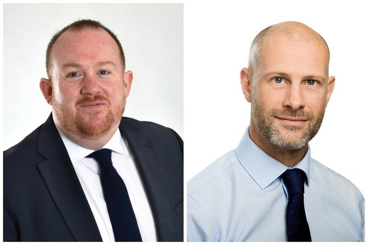 New appointments (L-R): James Quinn and Jon Tracey