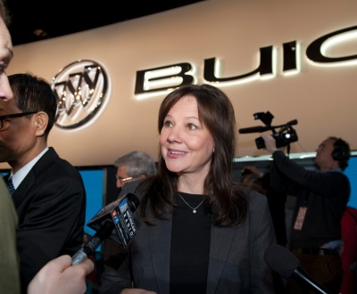 GM aided by Fleishman on chief executive transition
