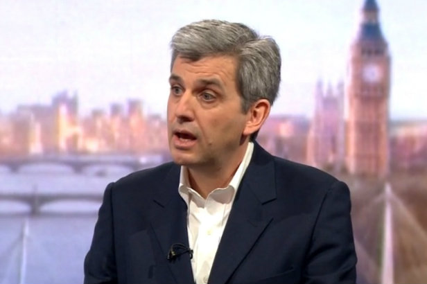 There's no sweetheart tax deal, Google comms chief Peter Barron tells BBC