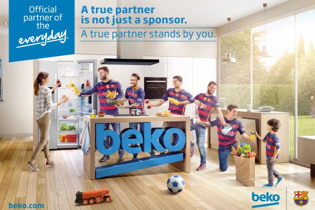 Watch: Beko kicks off partnership as 'official partner of play' to FC Barcelona