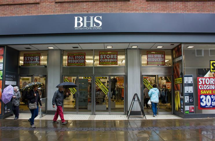 August business news continues to focus on BHS collapse