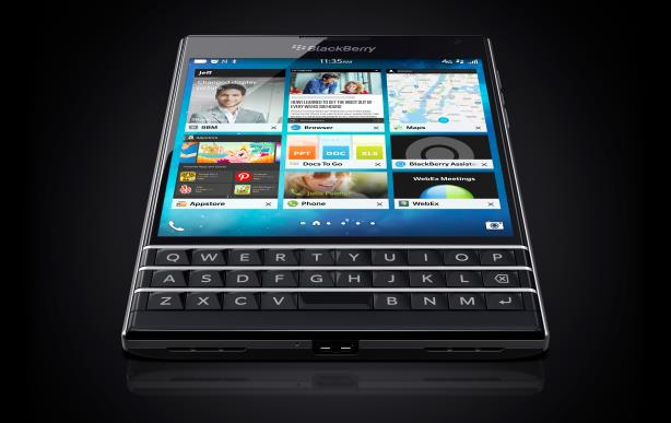 BlackBerry launched the Passport smartphone in September