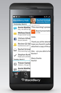 BlackBerry C-suite overhaul doesn't extend to comms
