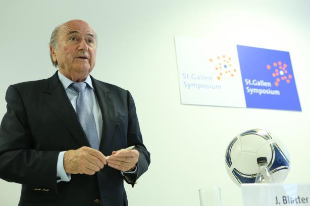FIFA President: Blatter in 2012 (Image via Wikimedia Commons)