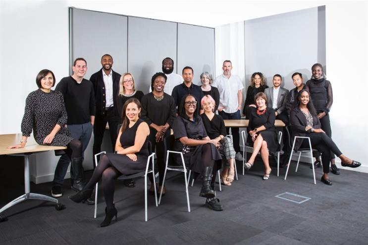 Some of the new Blueprint team (pic: Rob Greig)