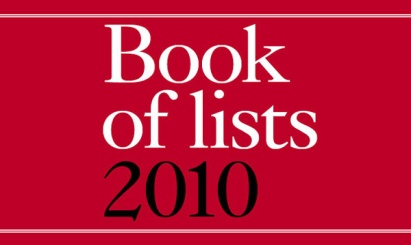 Book of Lists 2010